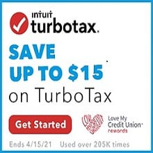Save up to $15 on Turbo Tax